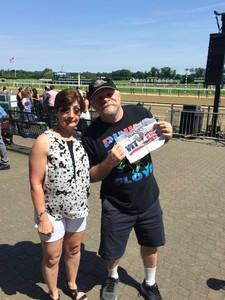 Robert attended The 150th Belmont Stakes on Jun 9th 2018 via VetTix