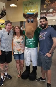 Delby attended The 150th Belmont Stakes on Jun 9th 2018 via VetTix