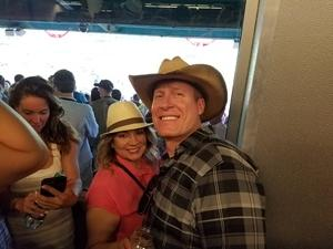 Jonathan attended The 150th Belmont Stakes on Jun 9th 2018 via VetTix