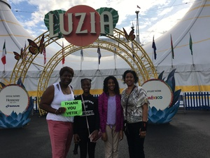 Quinntella attended Cirque Du Soleil Performs Luzia on May 22nd 2018 via VetTix
