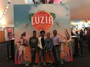 Ernest attended Cirque Du Soleil Performs Luzia on May 22nd 2018 via VetTix