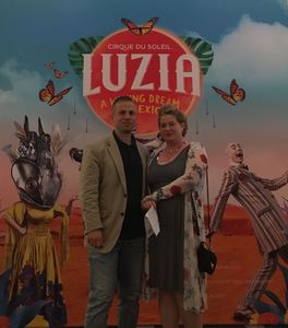 Miles attended Cirque Du Soleil Performs Luzia on May 22nd 2018 via VetTix