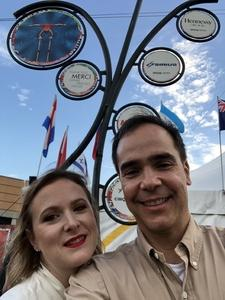 Victor attended Cirque Du Soleil Performs Luzia on May 22nd 2018 via VetTix