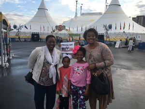 Cashenna attended Cirque Du Soleil Performs Luzia on May 22nd 2018 via VetTix