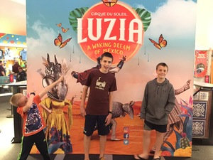 Troy attended Cirque Du Soleil Performs Luzia on May 22nd 2018 via VetTix