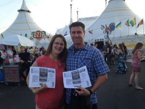 christopher attended Luzia by Cirque Du Soleil on May 25th 2018 via VetTix