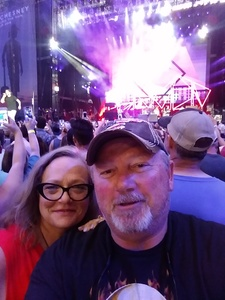 LARRY attended Kenny Chesney: Trip Around the Sun Tour - Standing Room Only on May 26th 2018 via VetTix