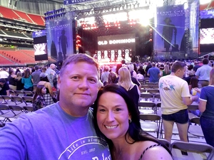 Coy attended Kenny Chesney: Trip Around the Sun Tour - Standing Room Only on May 26th 2018 via VetTix