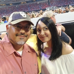 Rodney attended Kenny Chesney: Trip Around the Sun Tour - Standing Room Only on May 26th 2018 via VetTix
