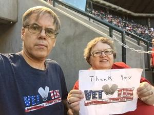 Richard attended Arizona Diamondbacks vs. Miami Marlins - MLB on Jun 1st 2018 via VetTix