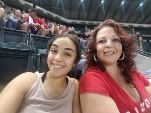 Anthony attended Arizona Diamondbacks vs. Miami Marlins - MLB on Jun 1st 2018 via VetTix