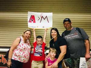 Kent attended Arizona Diamondbacks vs. Miami Marlins - MLB on Jun 1st 2018 via VetTix
