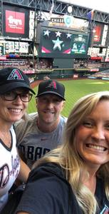 Scott attended Arizona Diamondbacks vs. Miami Marlins - MLB on Jun 1st 2018 via VetTix