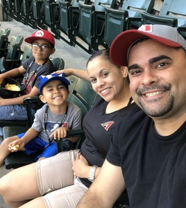 Carlos attended Arizona Diamondbacks vs. Miami Marlins - MLB on Jun 1st 2018 via VetTix