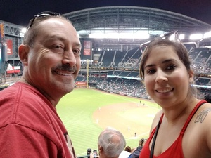 Armando attended Arizona Diamondbacks vs. Miami Marlins - MLB on Jun 1st 2018 via VetTix