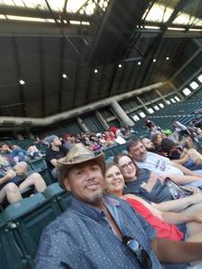Mani attended Arizona Diamondbacks vs. Miami Marlins - MLB on Jun 1st 2018 via VetTix