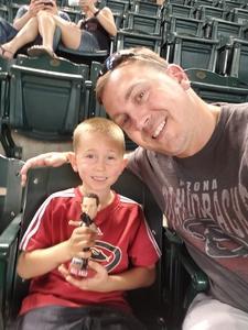 Dana attended Arizona Diamondbacks vs. Miami Marlins - MLB on Jun 2nd 2018 via VetTix