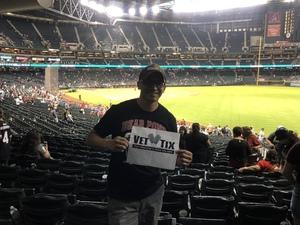 pedro attended Arizona Diamondbacks vs. Miami Marlins - MLB on Jun 2nd 2018 via VetTix