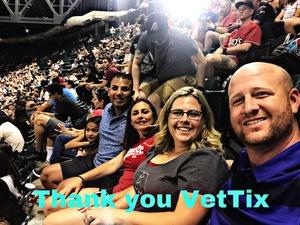 Joseph attended Arizona Diamondbacks vs. Miami Marlins - MLB on Jun 2nd 2018 via VetTix