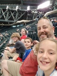 Grant attended Arizona Diamondbacks vs. Miami Marlins - MLB on Jun 2nd 2018 via VetTix