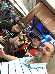 Michael attended Arizona Diamondbacks vs. Miami Marlins - MLB on Jun 2nd 2018 via VetTix