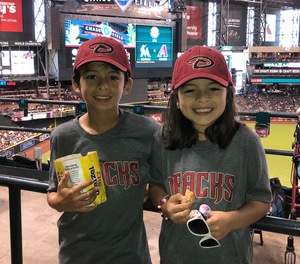 Alex attended Arizona Diamondbacks vs. Miami Marlins - MLB on Jun 3rd 2018 via VetTix