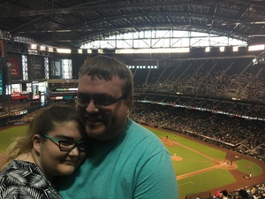 Joshua attended Arizona Diamondbacks vs. Miami Marlins - MLB on Jun 3rd 2018 via VetTix