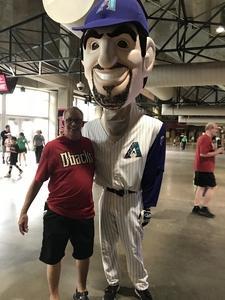 Robert attended Arizona Diamondbacks vs. Pittsburgh Pirates on Jun 13th 2018 via VetTix