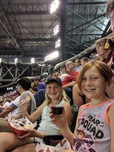 Brian attended Arizona Diamondbacks vs. Pittsburgh Pirates on Jun 13th 2018 via VetTix
