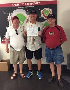 Ronald Skon attended Arizona Diamondbacks vs. Pittsburgh Pirates on Jun 13th 2018 via VetTix