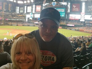 Keith attended Arizona Diamondbacks vs. Pittsburgh Pirates on Jun 13th 2018 via VetTix