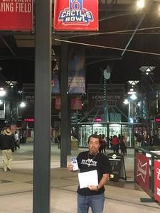 ken attended Arizona Diamondbacks vs. Pittsburgh Pirates on Jun 13th 2018 via VetTix