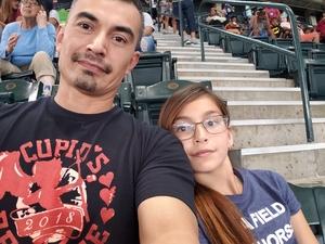 Jose attended Arizona Diamondbacks vs. Pittsburgh Pirates on Jun 13th 2018 via VetTix
