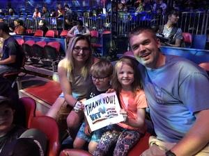 Tim attended Big Apple Circus - Philadelphia on May 27th 2018 via VetTix