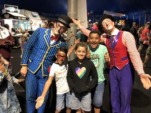 Ssgt.Rosario attended Big Apple Circus - Philadelphia on May 27th 2018 via VetTix