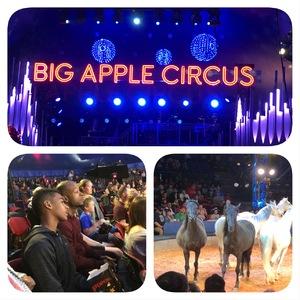 Nakia attended Big Apple Circus - Philadelphia on May 27th 2018 via VetTix