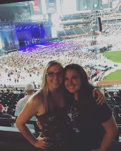 David attended Kenny Chesney: Trip Around the Sun Tour on Jun 23rd 2018 via VetTix