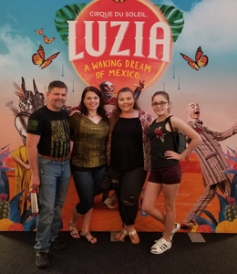 Lawrence attended LUZIA LUZIA by Cirque du Soleil on May 26th 2018 via VetTix