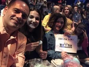Ben attended LUZIA LUZIA by Cirque du Soleil on May 26th 2018 via VetTix