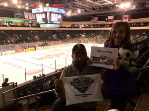 Michael attended Texas Stars vs. Rockford Icehogs - Game Six - Western Conference Finals - AHL on May 28th 2018 via VetTix