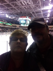 Willis attended Texas Stars vs. Rockford Icehogs - Game Six - Western Conference Finals - AHL on May 28th 2018 via VetTix