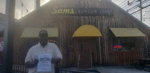 Andre attended Sams Burger Joint Presents New Breed Brass Band on Jun 29th 2018 via VetTix