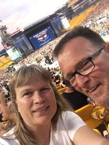stephanie attended Kenny Chesney: Trip Around the Sun Tour - Country on Jun 2nd 2018 via VetTix