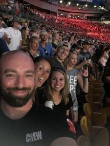 Krista attended Kenny Chesney: Trip Around the Sun Tour - Country on Jun 2nd 2018 via VetTix