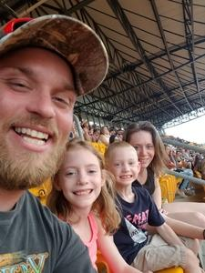 Arnold attended Kenny Chesney: Trip Around the Sun Tour - Country on Jun 2nd 2018 via VetTix