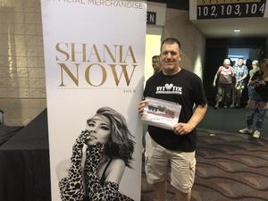 Michael attended Shania Twain - Live in Concert on Jun 4th 2018 via VetTix