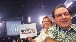 Gary attended Shania Twain - Live in Concert on Jun 4th 2018 via VetTix