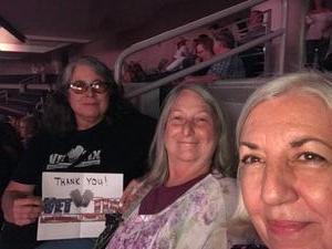 Irma attended Shania Twain - Live in Concert on Jun 4th 2018 via VetTix