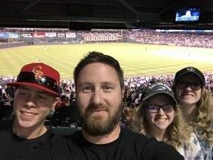 Randy attended Colorado Rockies vs. Arizona Diamondbacks - MLB on Jun 8th 2018 via VetTix