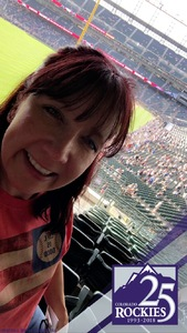 Deb attended Colorado Rockies vs. Arizona Diamondbacks - MLB on Jun 8th 2018 via VetTix